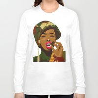 army Long Sleeve T-shirts featuring Army Fatigue by Original Bliss