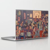 cargline Laptop & iPad Skins featuring Clint's Coffee by cargline
