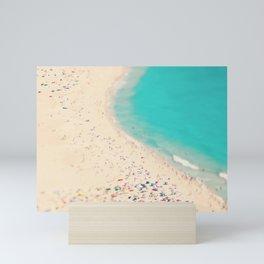 beach love III - Nazare Mini Art Print