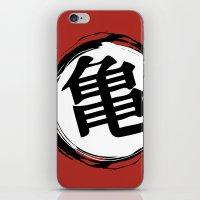 goku iPhone & iPod Skins featuring Goku by Mariana Andrea