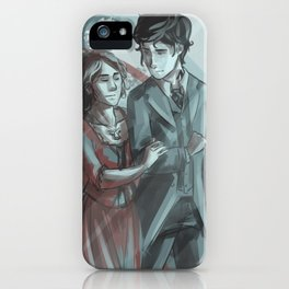 Will & Tessa iPhone Case