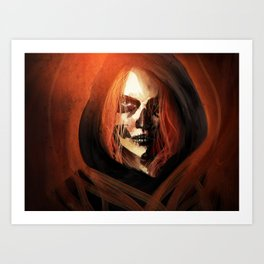 Ghost from the Past Art Print