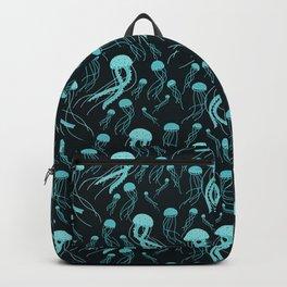 Bioluminescent Jellyfish Swarm Backpack
