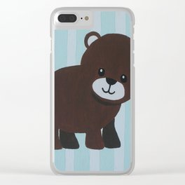 Baby bear Clear iPhone Case