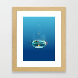 Stardrop Tea Framed Art Print