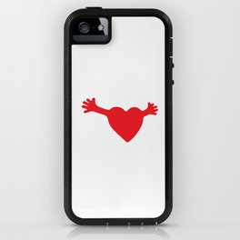 Heart and Hands iPhone Case
