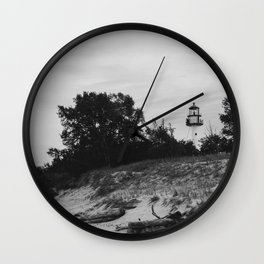 WhiteFish Point Light Station Wall Clock