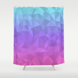 Jewel Tones - Flipped Shower Curtain
