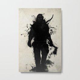 Apocalypse Hunter Metal Print