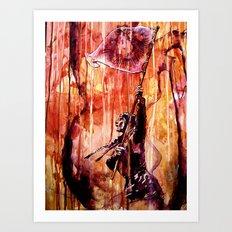 TELSE VAN KAMPEN Art Print