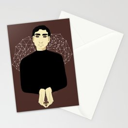 he sees Stationery Cards