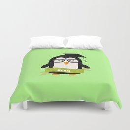 Penguin nerd from Bern T-Shirt for all Ages Duvet Cover