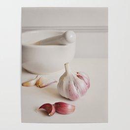 Garlic. Poster