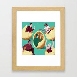 Introverts Framed Art Print
