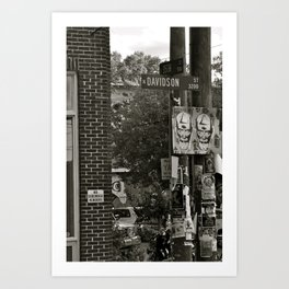 No Street Vendors. Art Print