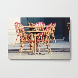 Paris Cafe - Paris, France Metal Print