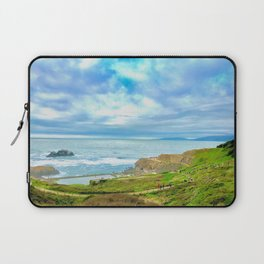 Sutro Baths in January Laptop Sleeve