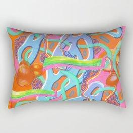 Alien Organism 13 Rectangular Pillow