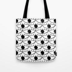 Pop Art Eyes Tote Bag