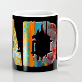 Rad Conscious (Black Background) Coffee Mug