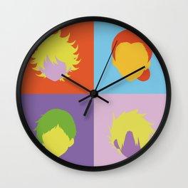 The promised neverland pop art Wall Clock