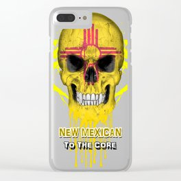 To The Core Collection: New Mexico Clear iPhone Case