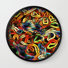 Frayed Nerves, Fried Wires Wall Clock