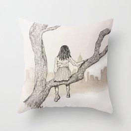 Climb Throw Pillow
