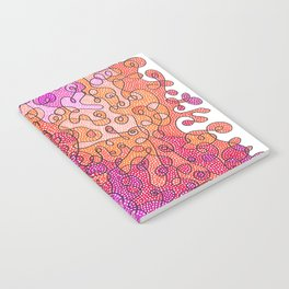 Abstract Colors #1 Notebook