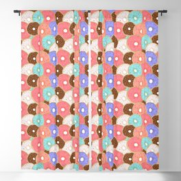 Sprinkle Donuts Blackout Curtain