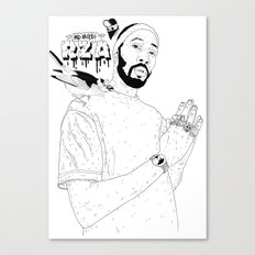 RZA Canvas Print