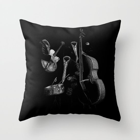The Invisibles Throw Pillow