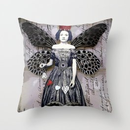 Collector of Hearts Throw Pillow