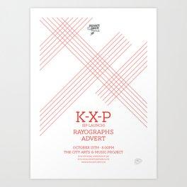KXP Art Print