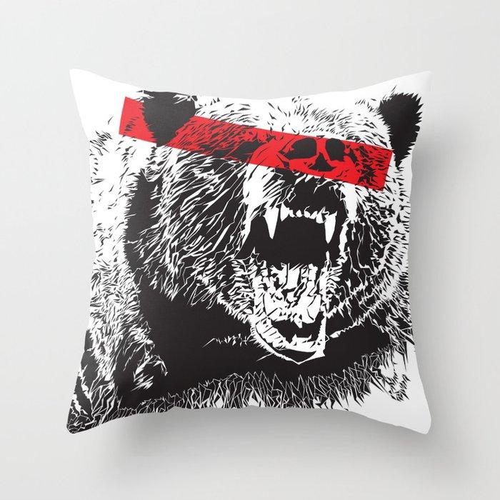 Bear me Throw Pillow