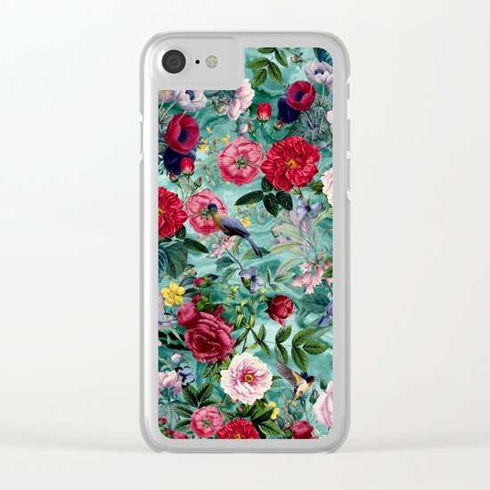 Surreal Garden Clear iPhone Case