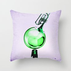 Modern Cornet Throw Pillow