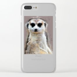 Suricate Clear iPhone Case