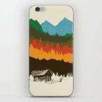 hunting iPhone & iPod Skins featuring Hunting Season by dan elijah g. fajardo