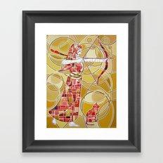Pop Artemis Framed Art Print