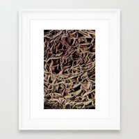 metallic Framed Art Prints featuring Metallic by Norms