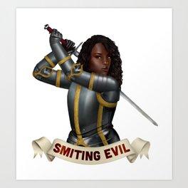 Paladin: Smiting Evil Art Print