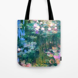 water lilies : Monet Tote Bag