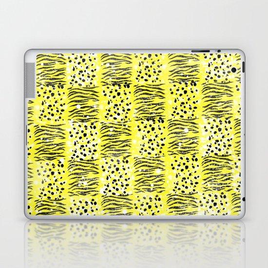 Powder Animal print Series (Yellow) Laptop & iPad Skin