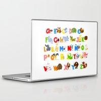 spanish Laptop & iPad Skins featuring ABC (spanish) by Alapapaju