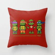 Turtle Theory Throw Pillow