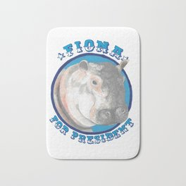 Fiona for President Bath Mat