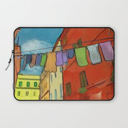 Laundry in Trastevere Laptop Sleeve
