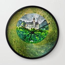 Neuschwanstein Castle Germany Wall Clock