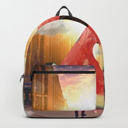 Water Melon on the Streets Backpack